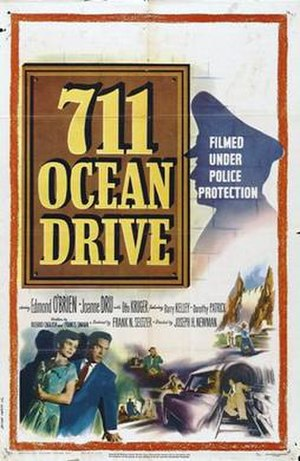 711 Ocean Drive - Theatrical release poster