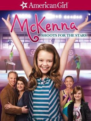 An American Girl: McKenna Shoots for the Stars - Image: AG Mc Kenna DVD