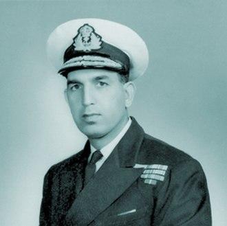 Chief of Naval Staff (Pakistan) - Image: Admiral.HMS.Choudri