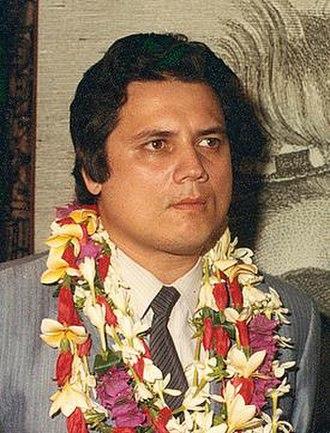 President of French Polynesia - Image: Alexandre Léontieff