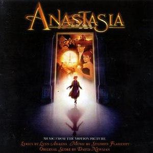Anastasia (soundtrack) - Image: Anastasia CD