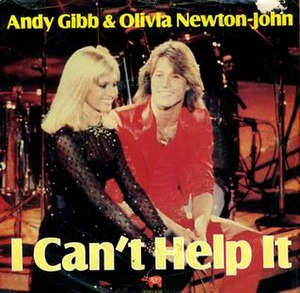 I Can't Help It (Andy Gibb and Olivia Newton-John song) - Image: Andygibbicanthelpit