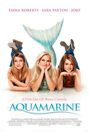 Aquamarine (film) - Theatrical release poster