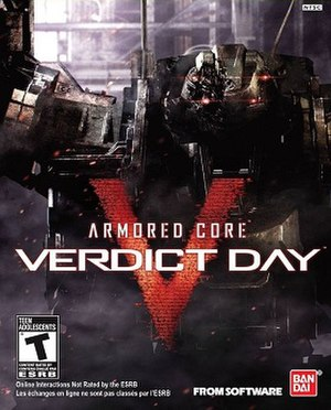 Armored Core: Verdict Day - Image: Armored Core Verdict Day cover