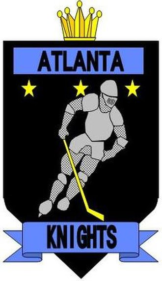 Atlanta Knights - Atlanta Knights logo (1992–1996)