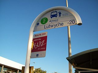 Bus upgrade zone Feature of Brisbanes public transport system