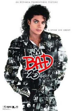 Bad 25 (film) - Film poster