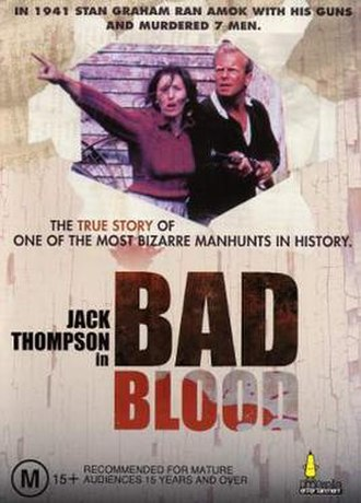 Bad Blood (1982 film) - Theatrical release poster