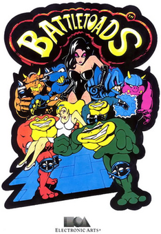 Arcade flyer of Battletoads