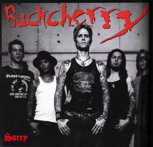 Sorry (Buckcherry song) - Image: Buckcherry sorry