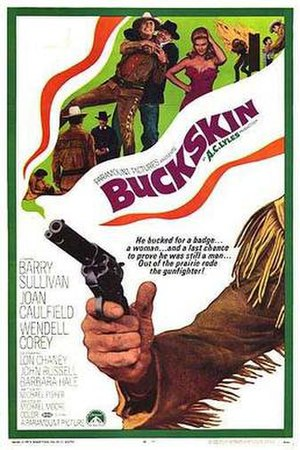Buckskin (film) - Theatrical release poster