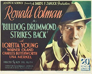 Bulldog Drummond Strikes Back (1934 film) - Image: Bulldog Drummond Strikes Back