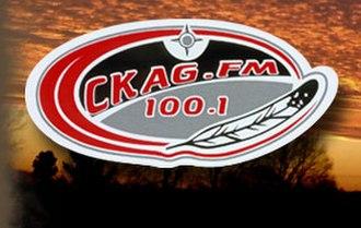 CKAG-FM - Image: CKAG CKAG FM100.1 logo