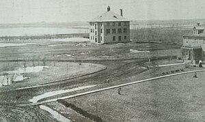University of Minnesota Crookston - 1906 view of the Northwest School of Agriculture - Crookston