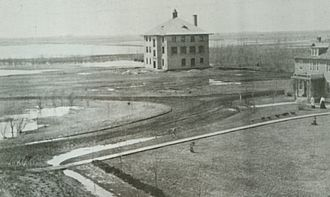 University of Minnesota Crookston - 1906 view of the Northwest School of Agriculture - Crookston