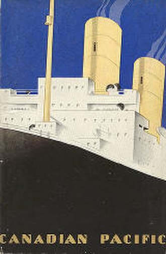 CP Ships - Advertising booklet, c. 1930.