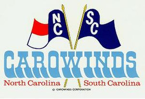 Carowinds - The original Carowinds logo, used from 1973 - 1992.