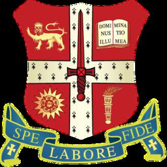 Central Foundation Boys' School - Image: Central Foundation Boys' School official crest