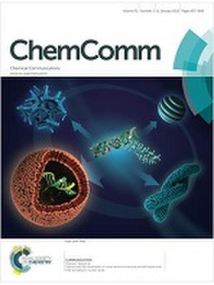 ChemComm - Image: Chemical communications cover