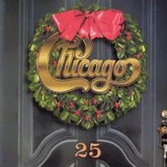 Chicago XXV: The Christmas Album - Image: Chicago 25