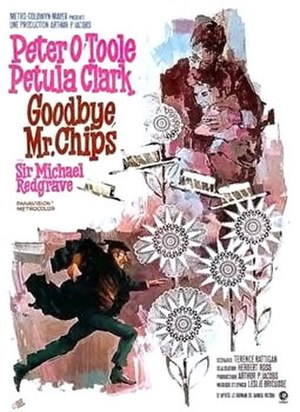 Goodbye, Mr. Chips (1969 film) - Image: Chips Poster