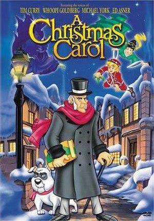 A Christmas Carol (1997 film) - DVD cover