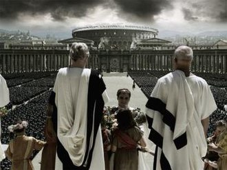 Gladiator (2000 film) - Several scenes included extensive use of computer-generated imagery shots for views of Rome.