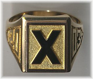 St. Francis Xavier University Students' Union - 2003 X-Ring