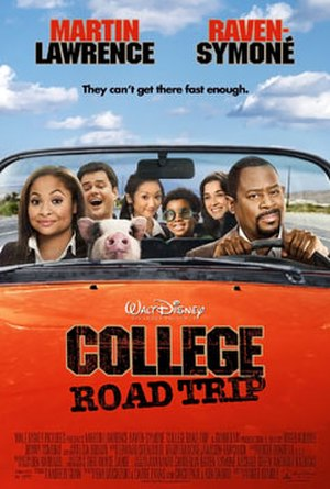 College Road Trip - Theatrical release poster