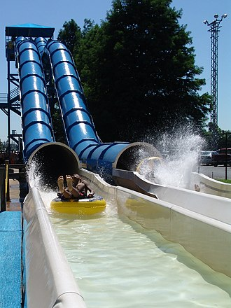 Coney Island (Cincinnati, Ohio) - Pipeline Plunge