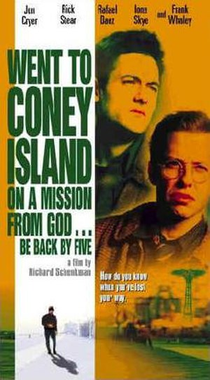 Went to Coney Island on a Mission from God... Be Back by Five - Movie Poster
