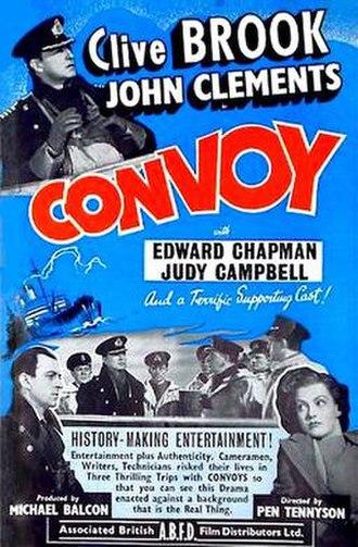 Convoy (1940 film) - Original UK poster