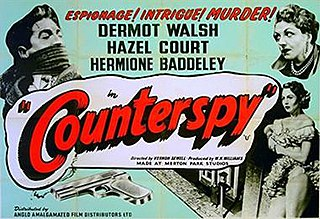 <i>Counterspy</i> (film) 1953 film by Vernon Sewell