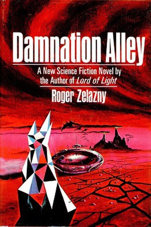 Damnation Alley - Cover of the first edition