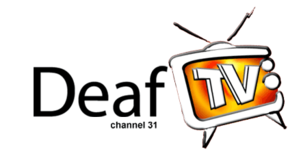 C31 Melbourne - The logo for Deaf TV, one of the diverse programs on C31