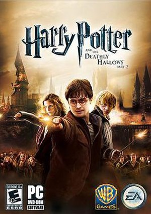 Harry Potter and the Deathly Hallows – Part 2 (video game) - Image: Deathly Hallows Game 2cover