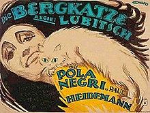 Die Bergkatze de Lubitsch-poster.jpg