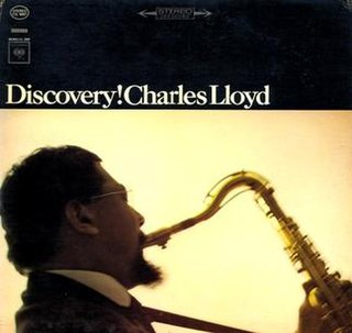 <i>Discovery!</i> 1964 studio album by Charles Lloyd