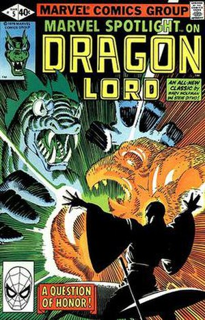 Dragon Lord (comics) - Image: Dragonlordc