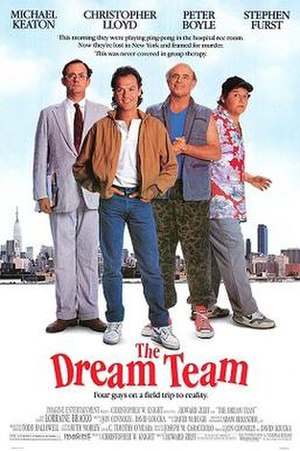 The Dream Team (film) - Theatrical release poster