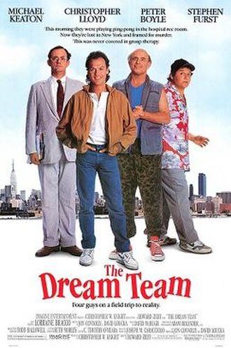 The Dream Team (1989 film) - Theatrical release poster