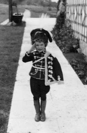 Edda Göring - Edda wearing a special female military uniform, 1942