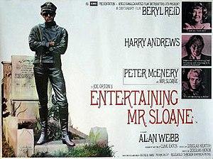 Entertaining Mr Sloane (film) - Original poster