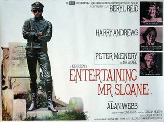 <i>Entertaining Mr Sloane</i> (film) 1970 film by Douglas Hickox