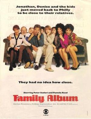 Family Album (1993 TV series) - Series premiere print advertisement