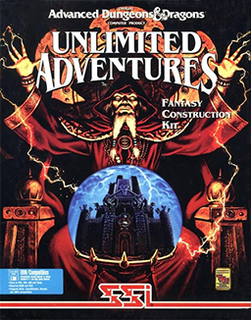 <i>Forgotten Realms: Unlimited Adventures</i> video game