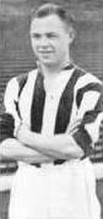 Freddie Steele (footballer) - Image: Freddie steele stokefootballer