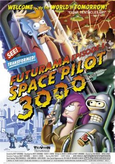 Space Pilot 3000 1st episode of the first season of Futurama
