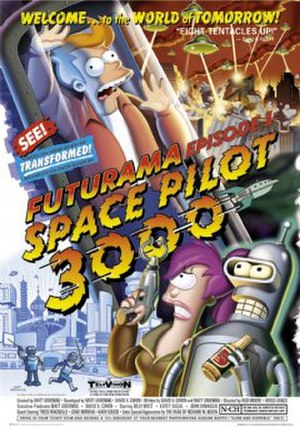 Space Pilot 3000 - Promotional artwork for the episode