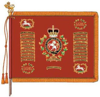 The Governor General's Horse Guards - The standard of The Governor General's Horse Guards.